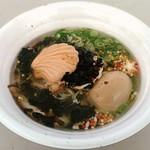 麺場 Voyage - 【帆立キノコ潮味 + 味玉】¥800 + ¥150
