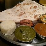 インド料理 ダルバール - 豪勢にしちゃったぜ!