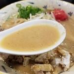 78014004 - 濃厚味噌らぁ麺のスープ
