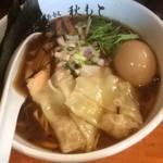 麺処 秋もと - 特製醤油ラーメン(950円)