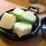 蕎麦居酒屋 まち庵 - 揚げ出し豆腐