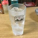 立ち呑みフレッシュ - 焼酎