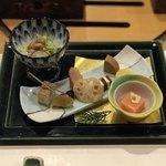 箱根小涌谷温泉 水の音 - 一、前菜