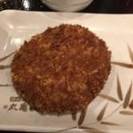 丸亀製麺 - 厚切りハムカツ190円