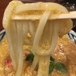 丸亀製麺 - あんかけ出汁が絡むー