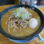 Adumaza - 特製濃厚味噌白湯そば(¥920)