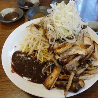 そうげんラーメン - 料理写真:信州つけ焼きそば 950円
