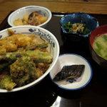 まんま家 - 味噌天丼