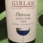 ワインレストラン ドミナス - GIRLAN Patricia Pinot Noir 2014