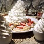 コナズ珈琲 - ソフトクリーム