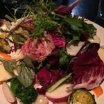 LA BONNE TABLE - 畑のサラダ