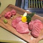 黒毛和牛焼肉ぜん - タン盛り合わせ 2100円