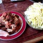 焼肉レストラン井東 - 料理写真:ジンギスカン単品野菜付き!