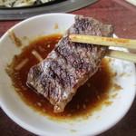 焼肉レストラン井東 - 噛み応えあるステーキ!