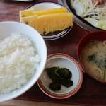 焼肉レストラン井東 - セットの付属品!