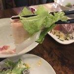 燻製×肉 イタリア酒場ORA - ハムとサラダを一緒に食べよう〜