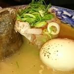 nurukansatouoosaka - 鶏白湯おでん じゃがいも 大根 玉子