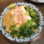 78027657 - コレがウワサ(?)の「タヌキ豆腐」。(「たぬき豆腐」と書かないと変なイメージに?)