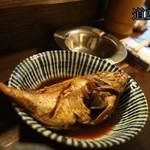 楽彩 - 天然鯛の姿煮(580円)