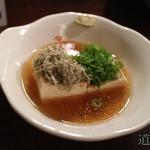 78028887 - 湯豆腐(380円)