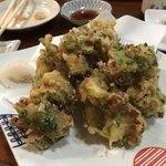 亀千 - 納豆の天ぷら