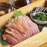 横浜鳥ぎん - コリコリした食感が印象的な『地鶏もも肉たたき』