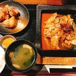 Satsumagokamon - 辛みそ鉄板もつ焼き