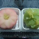 花園正家 - 料理写真:ねりきり「五稜郭の桜」上生きんとん「春が来た」
