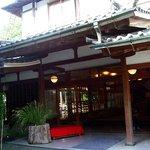 新井旅館 - 趣のある玄関