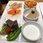 柿安 三尺三寸箸 - [ディナー]my plate 2017/12/15 19:35頃訪問