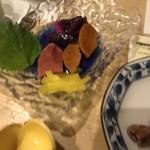 花より魚 - お新香