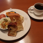 Cafe 来人喜人 - 料理写真:モーニング