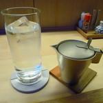 酒と肴 はち - ちろりとお水