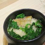 現代割烹Terra - ノドクロの炊き込みご飯