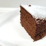 メイユール・モマン - 【2017.12】チョコレートケーキ(カット断面)
