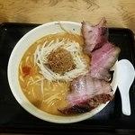 丹行味素 - 味噌麺焼豚3枚