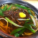楽 - 料理写真:鹿蕎麦