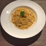 洋麺バルPastaBA - 生ウニのクリームソース ハーフ