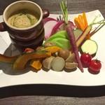 洋麺バルPastaBA - 季節野菜のバーニャカウダ