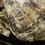 かきっこ商店 - 規定メニュー焼牡蠣です