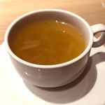 モッタポルテーニョ - セットのスープ