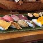 寿司と地魚料理 大徳家 - おまかせ握り鮨
