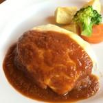 Bar Restaurant Andra - チーズハンバーグ(1,280円)★★★★☆