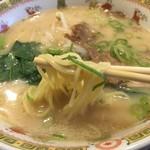 中国料理天座 - とんこつ醤油チャーシュー麺