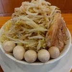 ラーメン いち大 - 【2017.12.16(土)】つけめん(並盛・300g)800円の麺