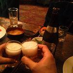 ブラウン - 瓶ビールは一番搾りとスーパードライが用意されています