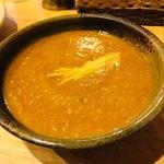 インド料理 シャティ - キーマカレーのアップ