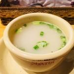 インド料理 シャティ - セットのスープ。おいしい。