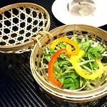 京都 鉄板焼 おはら - サラダ