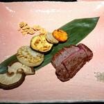 京都 鉄板焼 おはら - 焼き上がり